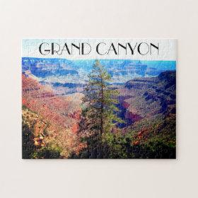 grand canyon tree jigsaw puzzle