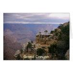 Grand Canyon & Trees Greeting Card