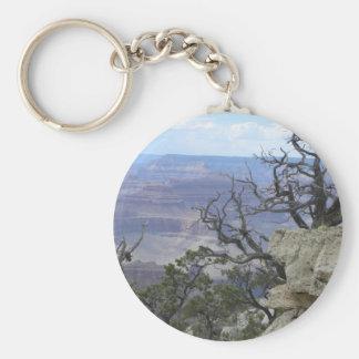 Grand Canyon trees keychain