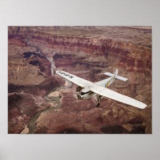 Grand Canyon Tri-Motor Print