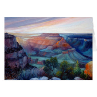 Grand Canyon Twilight Card