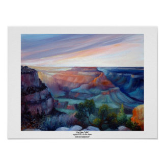 Grand Canyon Twilight Poster