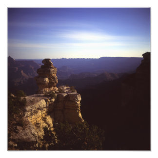 Grand Canyon Under Moonlight Photographic Print
