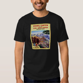 Grand Canyon  ~ Vintage Travel Poster T Shirt