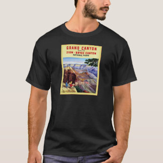 Grand Canyon  ~ Vintage Travel Poster T-Shirt