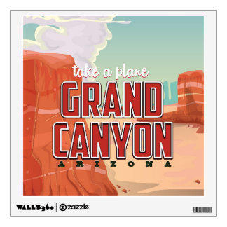Grand Canyon vintage travel poster Wall Decal