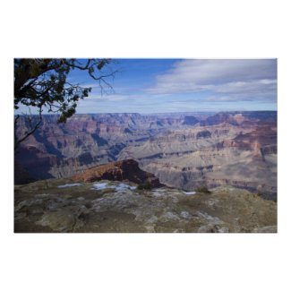Grand Canyon Vista 3 Poster print