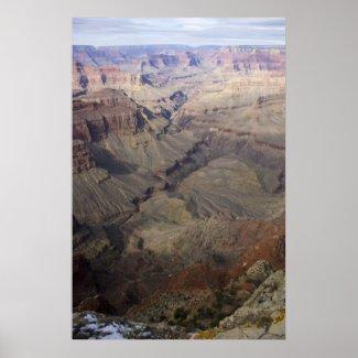 Grand Canyon Vista 8 Poster print