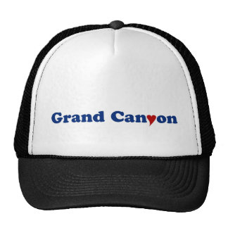 Grand Canyon with Heart Trucker Hat