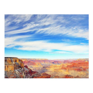 Grand Canyons Arizona Clouds Postcards
