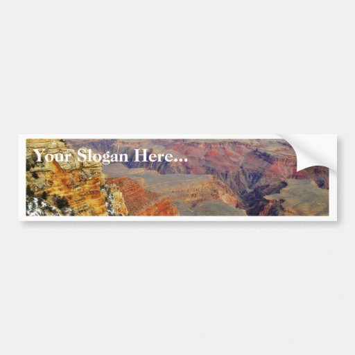 Grand Canyons In Arizona Bumper Stickers