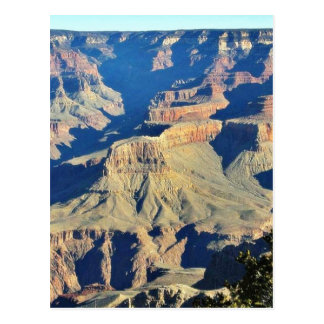 Grand Canyons Overlook Postcard