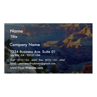 Grand Canyons Sunset Yaki Point Double-Sided Standard Business Cards (Pack Of 100)