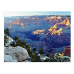Grand Canyons Sunset Yaki Point Postcard