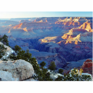 Grand Canyons Sunset Yaki Point Standing Photo Sculpture