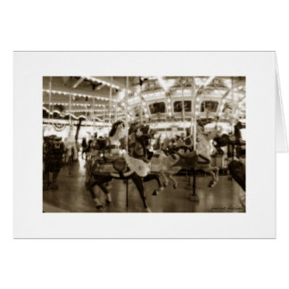 Grand Carousel 2 Notecard Stationery Note Card