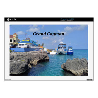 "Grand Cayman 17"" Laptop Decals"