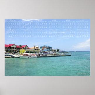 Grand Cayman 2012 Poster Calendar