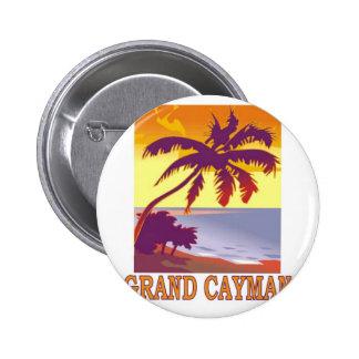 Grand Cayman 2 Inch Round Button