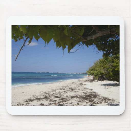 Grand Cayman Beach Mouse Pad
