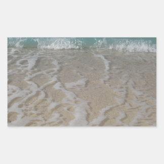 Grand Cayman Beach Rectangular Sticker