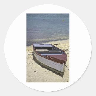 Grand Cayman Boat Classic Round Sticker