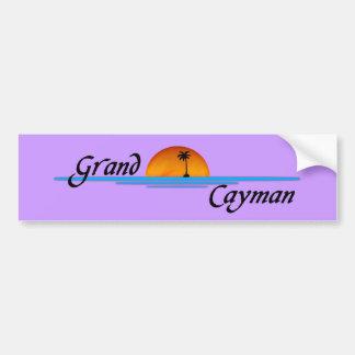 Grand Cayman Bumper Sticker Car Bumper Sticker