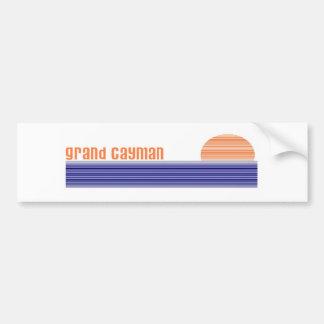 Grand Cayman Car Bumper Sticker