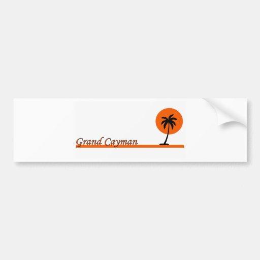 Grand Cayman Bumper Stickers