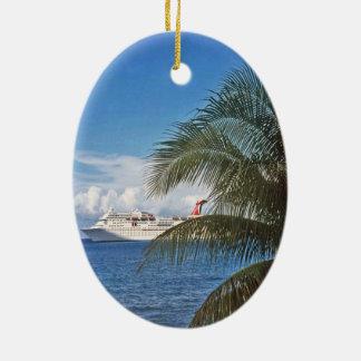Grand Cayman Ceramic Ornament