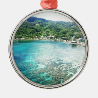 Grand Cayman Coral Reef Metal Ornament