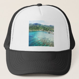 Grand Cayman Coral Reef Trucker Hat
