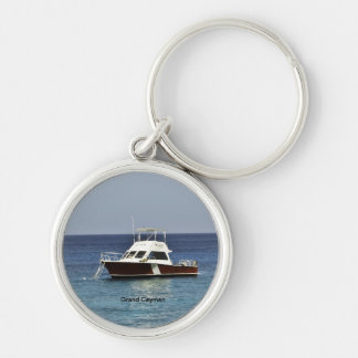Grand Cayman Dive Boat Key Chain