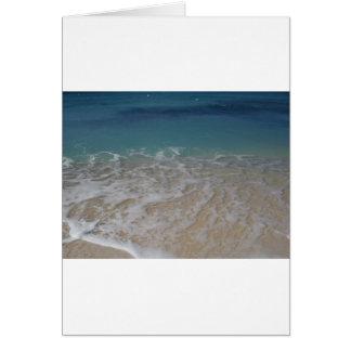Grand Cayman Island Beach Card