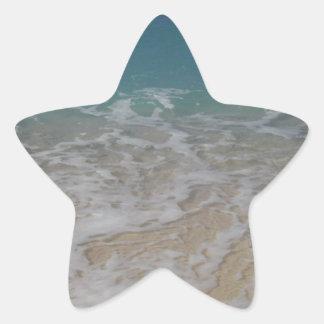 Grand Cayman Island Beach Star Sticker