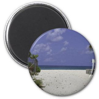 Grand Cayman Islands 2 Inch Round Magnet