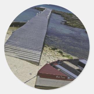 Grand Cayman Islands Classic Round Sticker