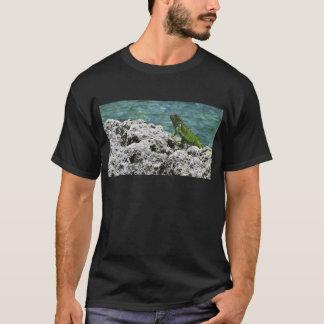 Grand Cayman Islands Green Iguana T-Shirt