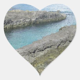 Grand Cayman Islands Heart Sticker