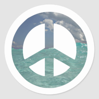Grand Cayman Peace Stickers