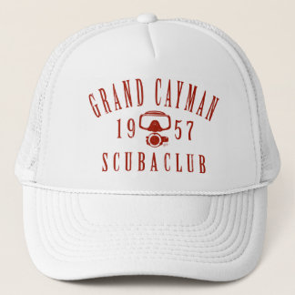 Grand Cayman Scuba Club (vintage) Trucker Hat