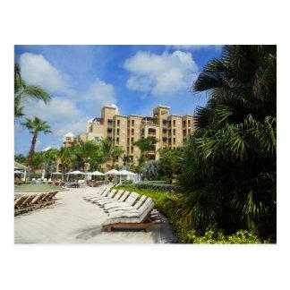 Grand Cayman Seven Mile Beach Resort Postcard