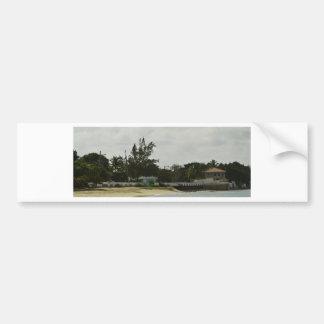 Grand Cayman Water Front Bumper Sticker