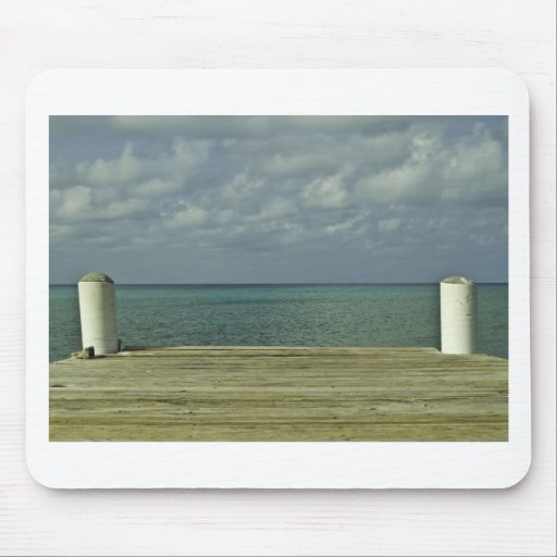 Grand Cayman Water Front Mouse Pad