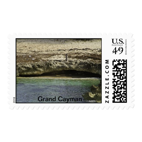 Grand Cayman Water Front Postage Stamp
