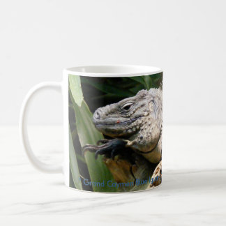 Grand Caymen Blue Iguana Coffee Mug