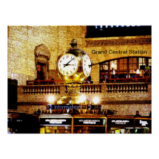Grand Central Canvas Posters