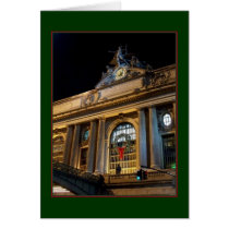 'Grand Central Christmas' Holiday Card - Blank
