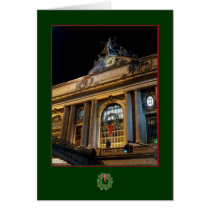 'Grand Central Christmas' Holiday Card - City