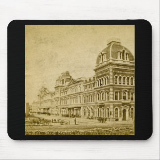 Grand Central Depot circa 1890s Mouse Pad